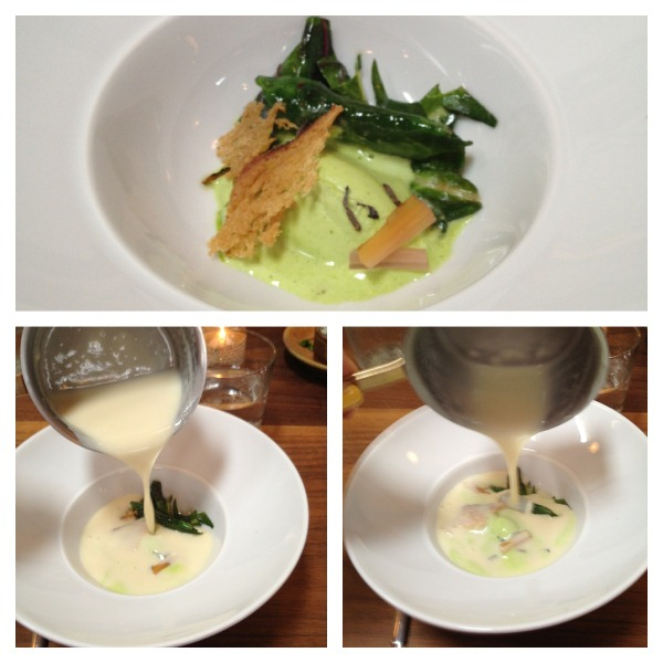 Garlic and Lovage Soup