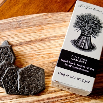 Charcoal crackers from The Fine Cheese Co.