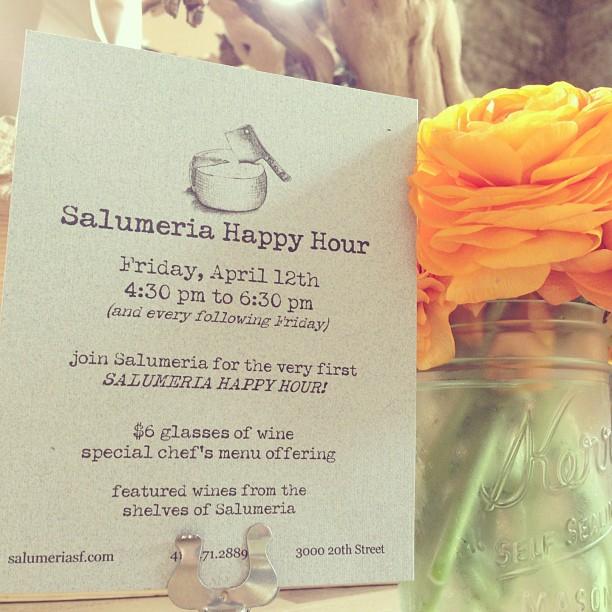 salumeria happy hour