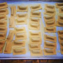 Kohlrabi tortelli for Salumeria.